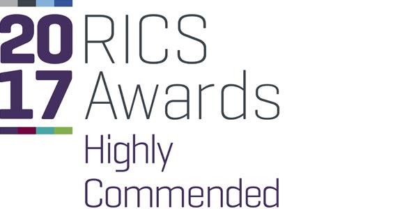 RICS 2017 Highly Commended Award